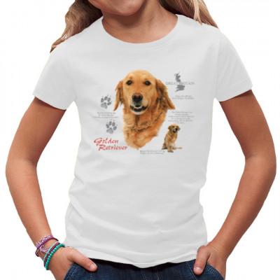 T-Shirt Golden Retriever, Hund, MOTIVE P - Z, Tiere, Tiere & Natur, Hunde, Hunde
