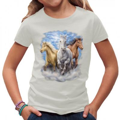 Rennende Pferde am Strand, Tiere & Natur, Pferde, Pferde