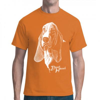 T-Shirt Basset Rassehund Hund, Tiere & Natur, Hunde, Hunde