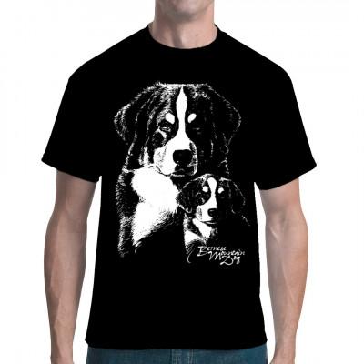 Shirt-Motiv: Berner Sennenhund, Tiere & Natur, Hunde, Hunde