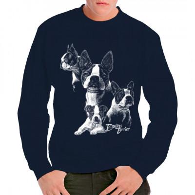 Hunde Shirt: Boston Terrier, Tiere & Natur, Hunde, Hunde