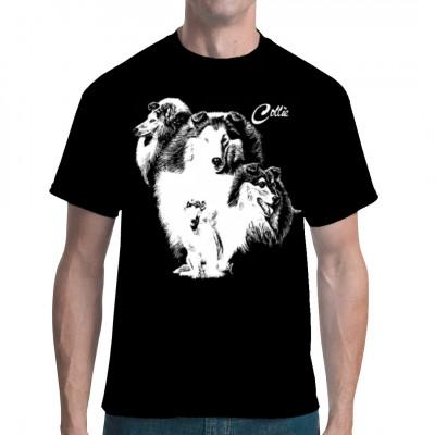 T-Shirt Colly Rassehund Hund, Tiere & Natur, Hunde, Hunde