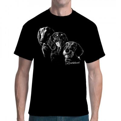 Hunde Shirt: Dackel Dachshund, Tiere & Natur, Hunde, Hunde