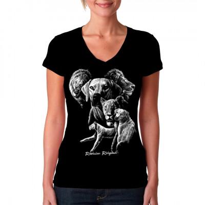 Hunde T-Shirt: Rhodesian Ridgeback, Tiere & Natur, Hunde, Hunde