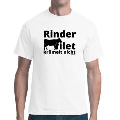 Sprüche T-Shirt Rinderfilet