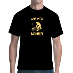 Cryptominer T-Shirt Bitcoin Miner