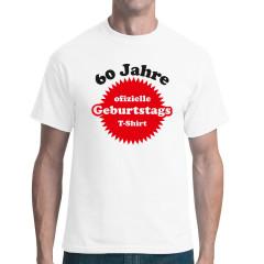 60 Jahre Geburtstags T-Shirt