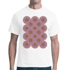 Optische-Täuschung-Wheels Shirt