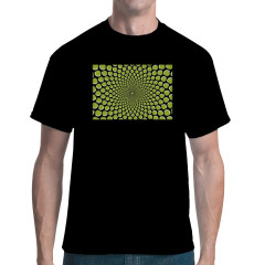 Optische Täuschung - Wave Dots