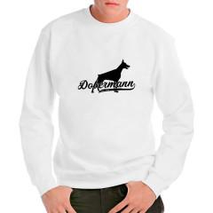 Hunde Motiv: Dobermann (schwarz)