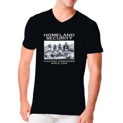 Fun Shirt Motiv: Indianer, Homeland Security