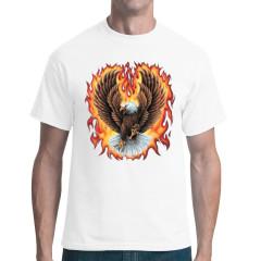 Flammender Adler