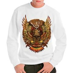Aztekischer Kalender und Adler