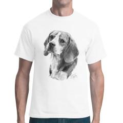 Beagle Hundemotiv