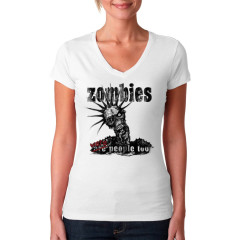 Zombies were people too!