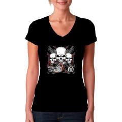Skulls Iron Cross Chopper