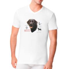 T-Shirt: Schwarzer Labrador Retriever Hund