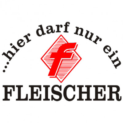 Fleischer-Metzger-weiss-Sprüche Arbeit, Beruf