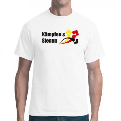 Kämpfen und Siegen T-Shirt Deutschland