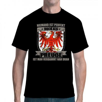 Perfekter Preuße - Brandenburg Wappen