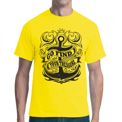 Segel Shirt: Go Find Your Treasure