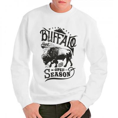 Western Shirt: Buffalo Hunt