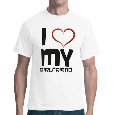 Valentinstag - I love my girlfriend