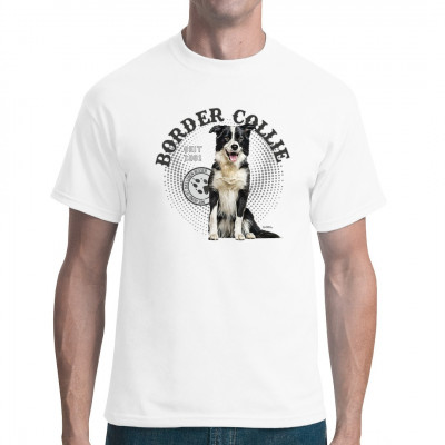 Hunde Shirt Motiv: Border Collie