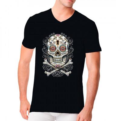 Floral Skull - Totenschädel