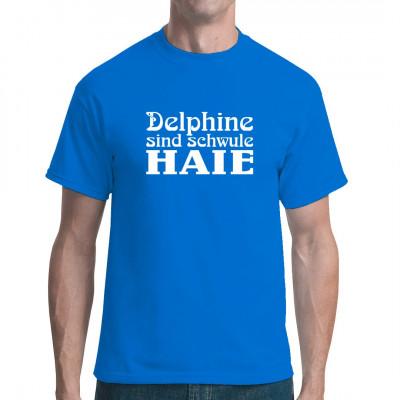 Delphine sind schwule Haie