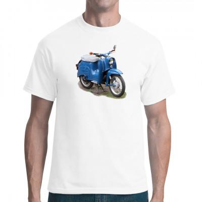 DDR Moped Simson Schwalbe K51 blau