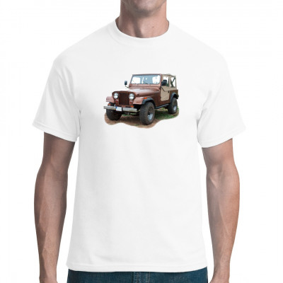 Jeep CJ7 braun