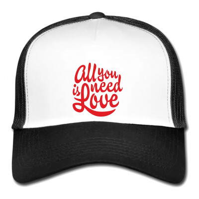 Mesh Cap - All you need is love!