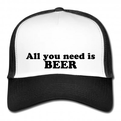 Mesh Cap - All you need is beer!