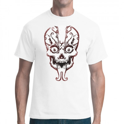 Skull With Tongue