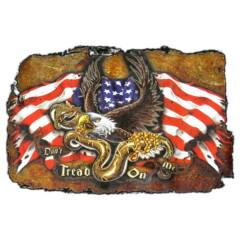 Don't Tread On Me - Adler, Flagge und Schlange