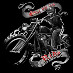 Biker-Motiv: Hog Heaven