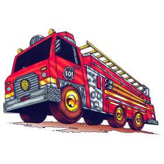 Comic Feuerwehr