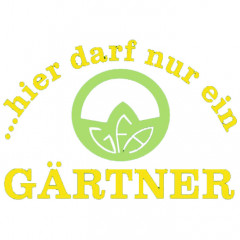 Gärtner-Dunkelgrün-Sprüche Arbeit, Cooles Motiv