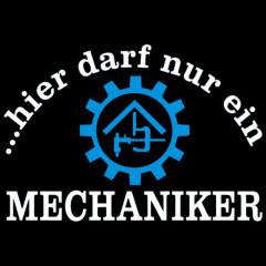 Mechaniker-Navyblau-Sprüche Arbeit, cooles Motiv