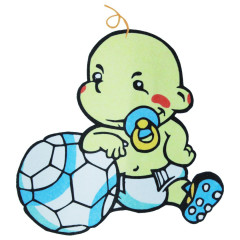 Fußball Baby
