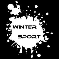 Winter Sport - Kleckse (weiß)