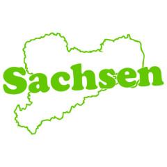 Sachsen Landkarte