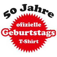 Fünfzigster Geburtstag Shirt