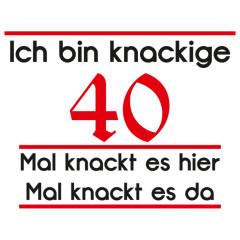Knackige 40