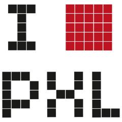 I love Pixel, ♥, Pixel Liebhaber Fan