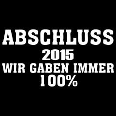 Abschluss 20** - 100%