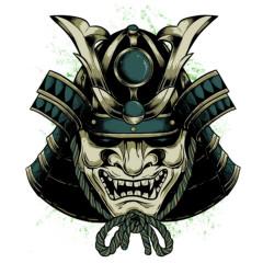 Samurai Shogun Maske