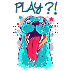 Spiel mit mir Hund