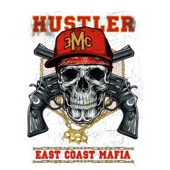 East Cost Mafia Skull